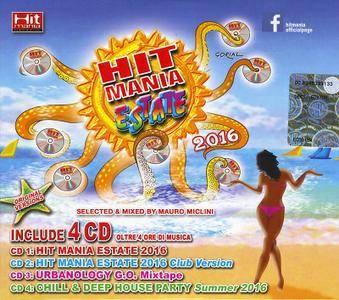 Hit Mania Estate 2016 (2016) [Box 4CD]
