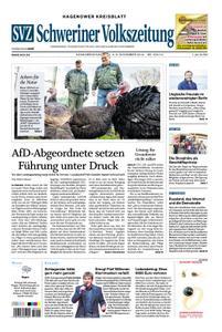 Schweriner Volkszeitung Hagenower Kreisblatt - 02. November 2019