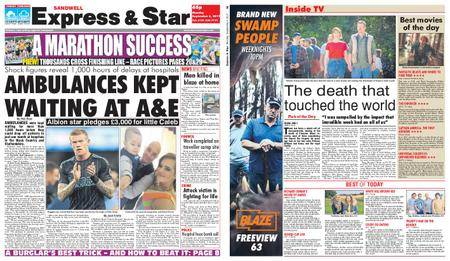 Express and Star Sandwell Edition – September 04, 2017