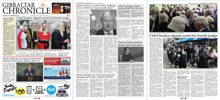 Gibraltar Chronicle – 29 September 2018