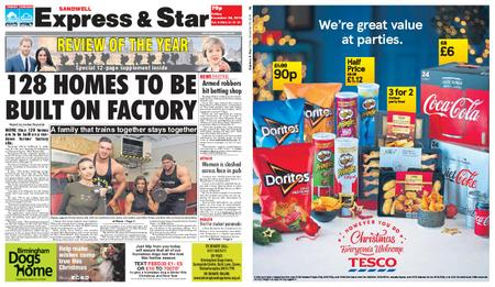 Express and Star Sandwell Edition – December 28, 2018