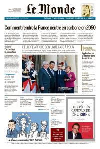 Le Monde du Mercredi 27 Mars 2019
