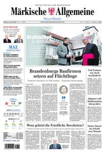 Märkische Allgemeine Dosse Kurier - 21. Januar 2019