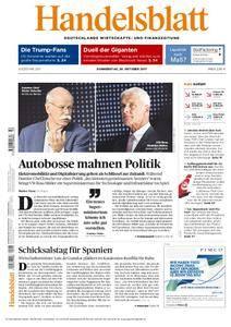 Handelsblatt - 26. Oktober 2017