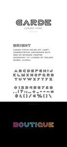 Garde Luxury Font