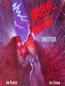 Marvel Graphic Novel 75 -Daredevil Black Widow - Abattoir 1993