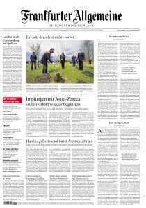 Frankfurter Allgemeine Zeitung - 19 März 2021