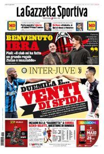 La Gazzetta dello Sport Bergamo – 05 gennaio 2020