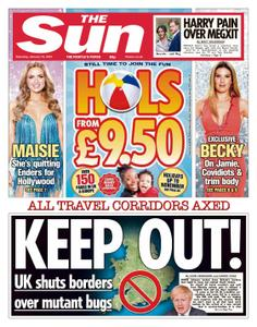 The Sun UK - January 16, 2021