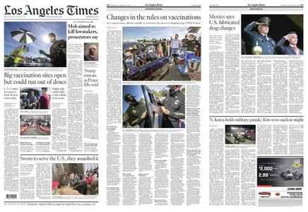 Los Angeles Times – January 16, 2021