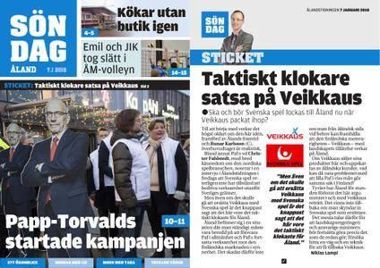 Ålandstidningen – 07 januari 2018