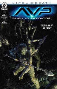 Aliens vs Predator - Life and Death 01 of 04 2016 3 covers digital The Magicians-Empire