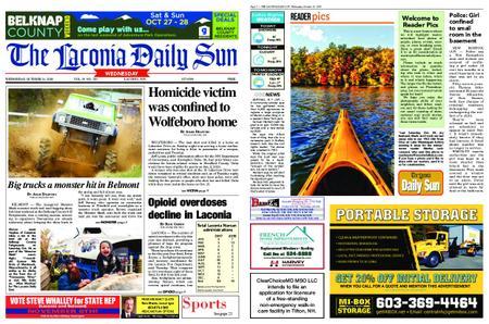 The Laconia Daily Sun – October 24, 2018