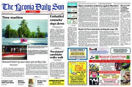 The Laconia Daily Sun – August 09, 2018