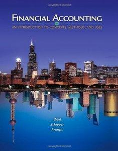 Financial Accounting: An Introduction to Concepts, Methods and Uses (Repost)