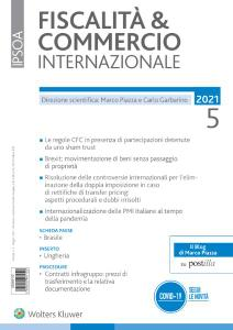 Fiscalità & Commercio Internazionale - Maggio 2021