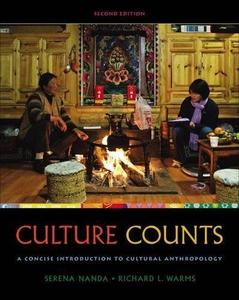Culture Counts: A Concise Introduction to Cultural Anthropology (Repost)