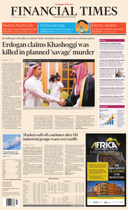 Financial Times Europe – 24 October 2018