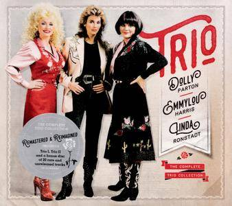 Dolly Parton, Emmylou Harris, Linda Ronstadt - The Complete Trio Collection (2016) 3CDs [Re-Up]