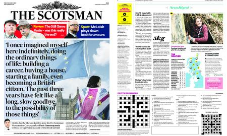 The Scotsman – March 29, 2019
