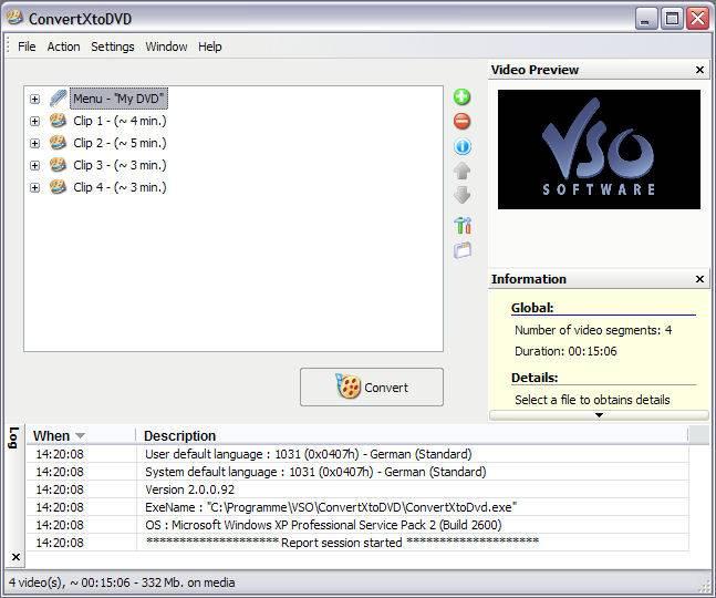 ConvertXtoDVD ver. 2.1.1.150 Multilangues
