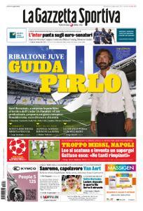 La Gazzetta dello Sport Sicilia – 09 agosto 2020
