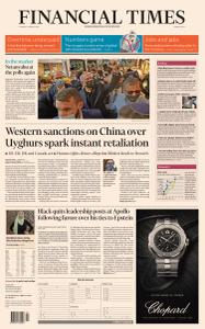 Financial Times Middle East - March 23, 2021