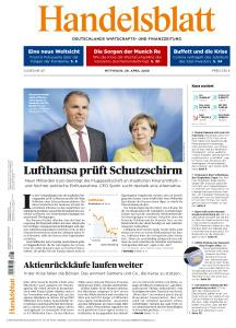 Handelsblatt - 29 April 2020