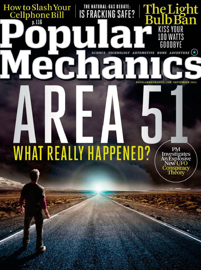 Popular Mechanics - September 2011