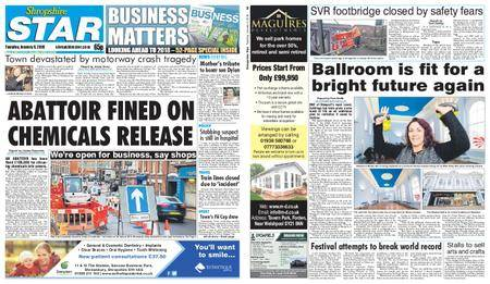 Shropshire Star Shrewsbury Edition – January 09, 2018