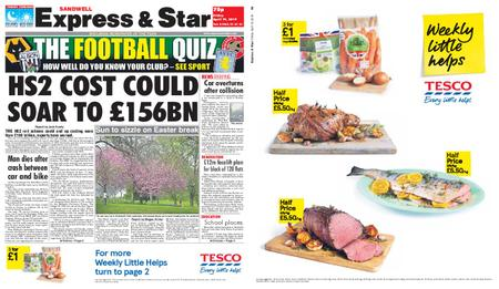 Express and Star Sandwell Edition – April 19, 2019