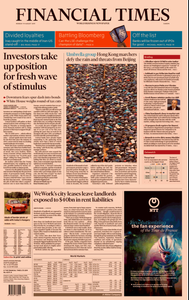 Financial Times Europe – 19 August 2019