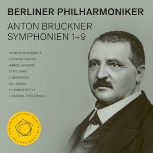 Berliner Philharmoniker - Bruckner: Symphonies Nos. 1–9 (2019) [Official Digital Download 24/48]