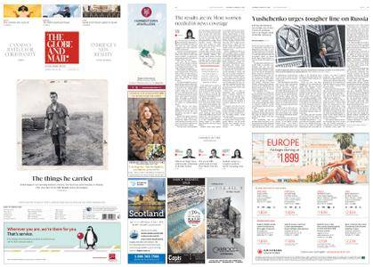 The Globe and Mail – March 31, 2018