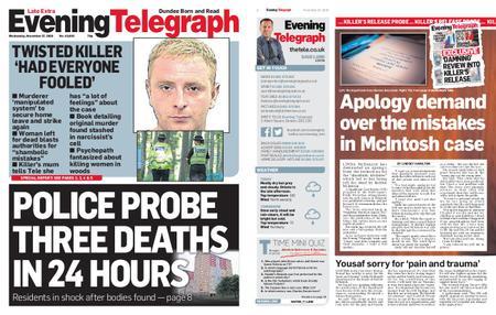 Evening Telegraph First Edition – November 27, 2019