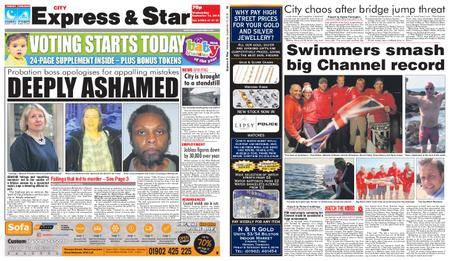 Express and Star City Edition – September 12, 2018