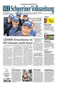 Schweriner Volkszeitung Hagenower Kreisblatt - 09. September 2019