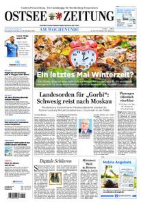 Ostsee Zeitung Wolgast - 27. Oktober 2018