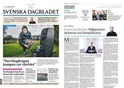 Svenska Dagbladet – 29 januari 2020