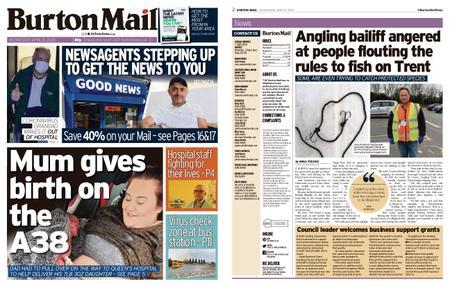 Burton Mail – April 08, 2020