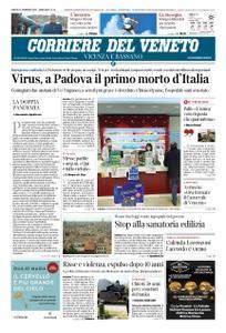 Corriere del Veneto Vicenza e Bassano – 22 febbraio 2020