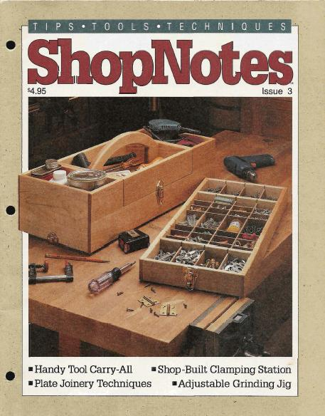 ShopNotes Issues 1-5