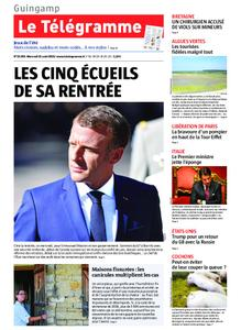 Le Télégramme Guingamp – 21 août 2019
