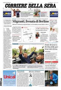 Corriere della Sera – 08 ottobre 2018