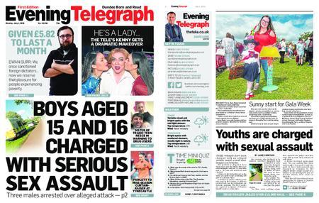 Evening Telegraph First Edition – July 01, 2019
