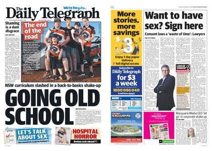 The Daily Telegraph (Sydney) – October 22, 2019