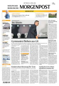 Solinger Morgenpost – 03. April 2019