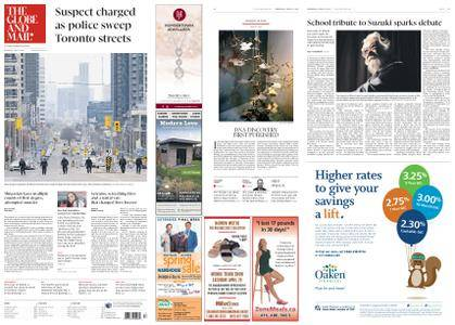The Globe and Mail – April 25, 2018