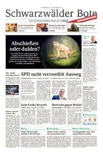 Schwarzwälder Bote Hechingen - 22. November 2018