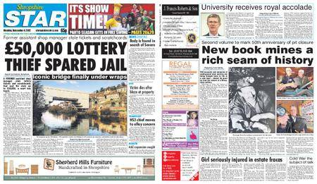 Shropshire Star Shrewsbury Edition – December 04, 2017
